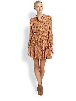 Thakoon Addition - Floral-Print Shirtdress