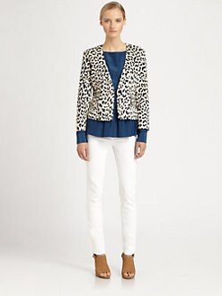 Thakoon Addition - Leopard-Print Blazer