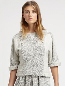 See by Chloe - Cotton Fleece Top