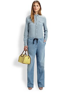 See by Chloe - Chambray Cotton Shirt