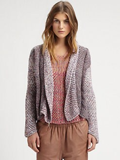 See by Chloe - Mixed-Pattern Sweater