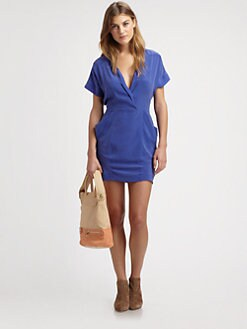 See by Chloe - Silk Shirtdress