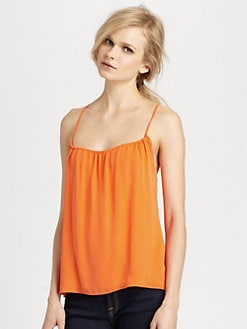 Haute Hippie - Silk Criss-Cross Camisole
