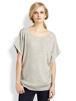 Haute Hippie - Sequin Dolman Sweatshirt