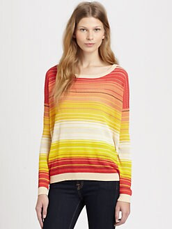 Haute Hippie - Striped Thermal Sweater