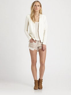 IRO - Leather-Trim Blazer