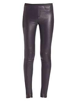 Helmut Lang - Stretch-Leather Leggings