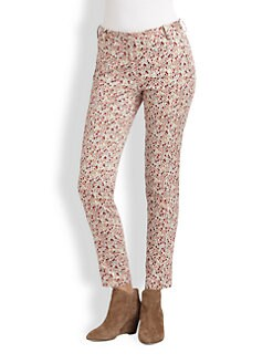 Thakoon Addition - Liberty Floral-Print Skinny Jeans