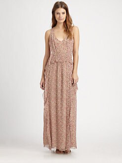 Thakoon Addition - Liberty Silk Tank Gown