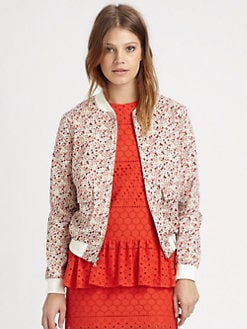 Thakoon Addition - Liberty-Print Bomber Jacket