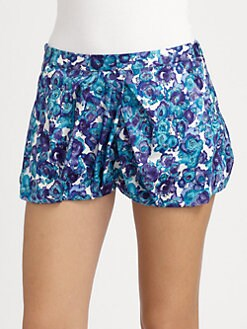 Thakoon Addition - Watercolor Floral Bloomer Shorts