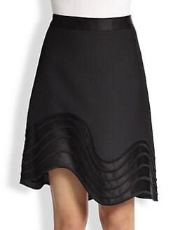 3.1 Phillip Lim - Wavy-Hem A-Line Skirt