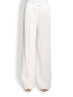 3.1 Phillip Lim - Drawstring Wide-Leg Wool Pants
