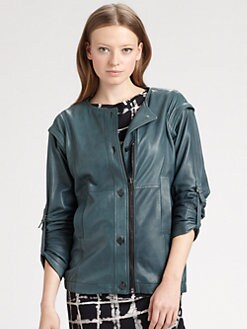 Kelly Wearstler - Fallen Convertible Leather Jacket