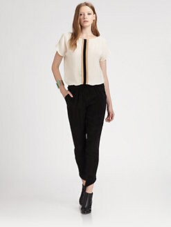 Kelly Wearstler - Untamed Contrast Top