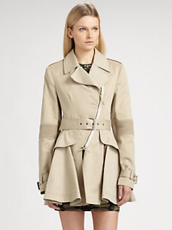McQ Alexander McQueen - Hybrid Trenchcoat