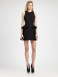 McQ Alexander McQueen - Peplum Racerback Dress