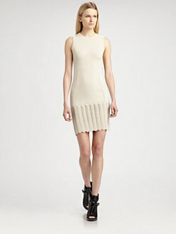 McQ Alexander McQueen - Scale Knit Dress