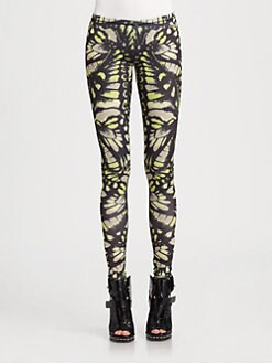 McQ Alexander McQueen - Printed Jersey Leggings