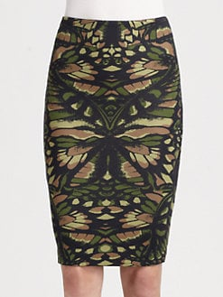 McQ Alexander McQueen - Jersey Pencil Skirt