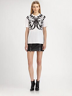 McQ Alexander McQueen - Butterfly Boyfriend Tee