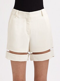 Alexander Wang - Crepe Illusion Boy Shorts