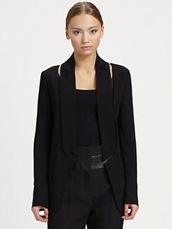 Alexander Wang - Crepe Cutaway Blazer