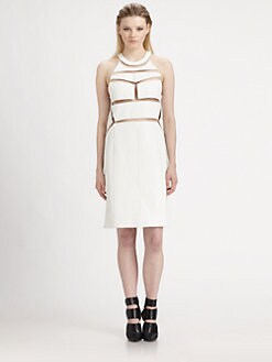 Alexander Wang - Cutout Leather Dress