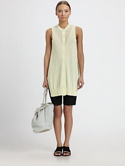 Alexander Wang - Sweatshirt-Inspired Tank Top
