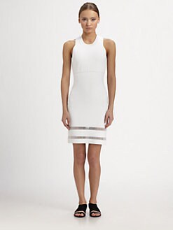 Alexander Wang - Fitted Racerback Dress