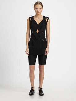 Alexander Wang - Cable-Knit Muscle Tank