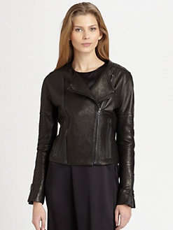 J Brand Ready-To-Wear - Marie Quilted Leather Motorcycle Jacket