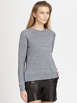 J Brand Ready-To-Wear - Minnie Jersey Sweatshirt