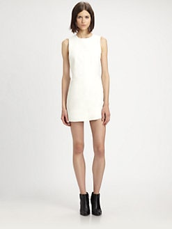 Theyskens' Theory - Dimo Leather Mini Dress
