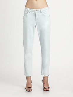 Theyskens' Theory - Pasco Stretch-Cotton Jeans
