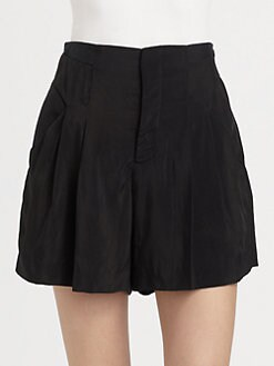 Theyskens' Theory - High-Waist Shorts