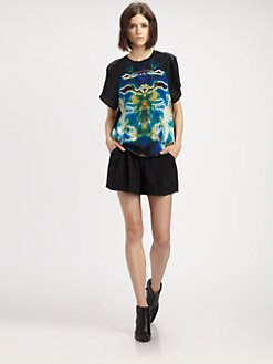 Theyskens' Theory - Oil Slick-Print T-Shirt