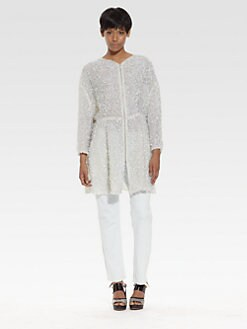 Theyskens' Theory - Sequined Silk Jacket