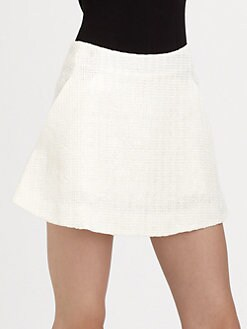 Theyskens' Theory - Sonet Tweed Mini Skirt
