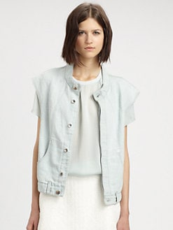 Theyskens' Theory - Denim Vest