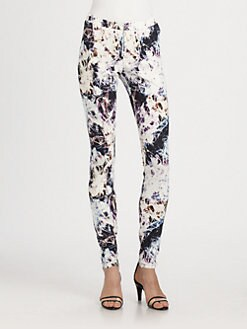 Theyskens' Theory - Pittel Wondra Printed Leggings
