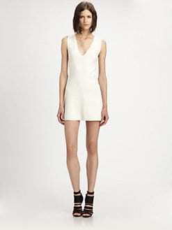 Theyskens' Theory - Kexi Yora Silk & Cotton Dress