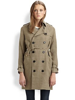 A.P.C. - Tweed Trenchcoat