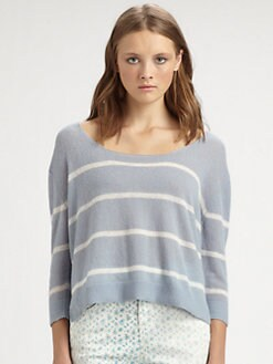 girl. by Band of Outsiders - Striped Sweater