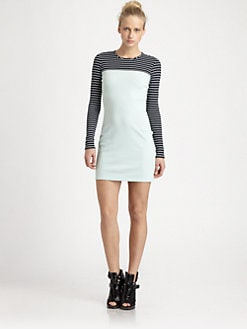 Opening Ceremony - Multi-Stripe Knit Dress