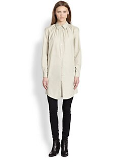 Acne - Adeline Long Poplin Shirt