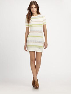 Opening Ceremony - Hollis Striped Knit Dress