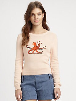 Opening Ceremony - Octopus-Print Sweater