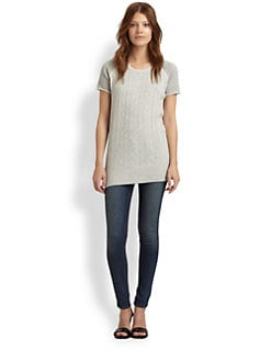 Thakoon Addition - Cable Knit Tunic Sweater
