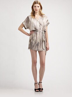 Haute Hippie - Silk Dolman Dress